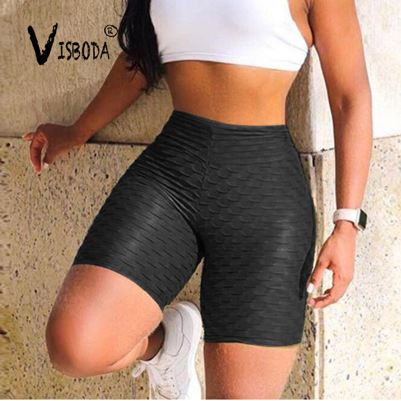 Women High Waist Fitness Leggings Sporting Crop Leggings Fashion Female Push Up Black Spandex Pants Workout Leggings Plus Size