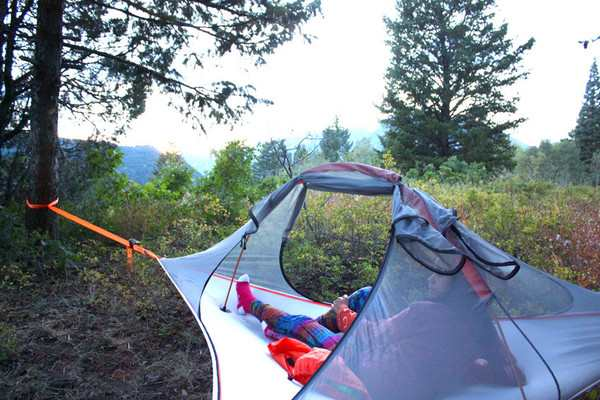Triangle Camping Hammock In Tents From Sports Entertainment On