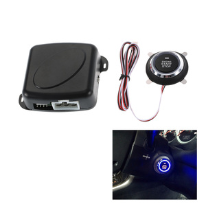 Image 3 - רכב מנוע התחלה/RFID מנוע מנעול הצתה Starter/Keyless מנוע Start Stop לחצן Starter אנטי גניבת מערכת
