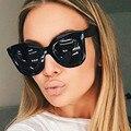 Kim Kardashian Sunglasses Flat Top Eyewear Lunette Femme Women Luxury Brand Bow Sunglasses Women 2017 Rivet Sun Glasses Female