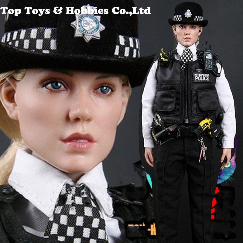 Coreplay MODELING TOY MMS9005 1/6 UK Scotland Yard London Policewoman Action Figure Toys for Fans Collection Gifts