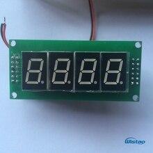 IWISTAO плата цифрового дисплея для трубки FM стерео радио головка готовый набор PCBA DIY