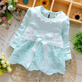 Baby Dress Baby Girls Clothes Kids Bow Long Sleeve Fashion Casual Princess Christmas Gift Party Dress 5 Kinds of Style