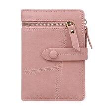 Купить с кэшбэком Short Lady Purses Women Wallets Cards Holder Hasp Zipper Girls Moneybag Coin Purse Pouch Woman Clutch Wallet Bag Notecase Pocket