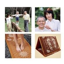 1Pc Tourmaline Blanket Mat Foot Massage Pad Foot Pad Shortfalls Energy Acupuncture Massage Mat Health Care Body Massager  C760
