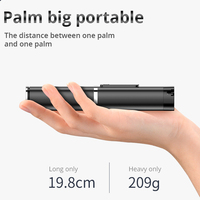 Bonola портативный интегрированный штатив селфи-палка со скрытым кронштейном для телефона с Bluetooth кнопкой для телефона с таймером для телефон... 3