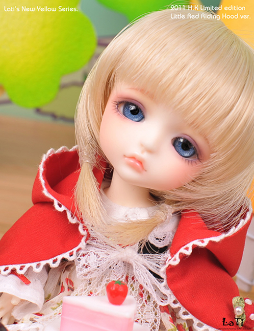 1/8 scale BJD about 15cm pop BJD/SD cute Little Red Riding Lea Resin figure doll Model Toys gift.Not included Clothes,shoes,wig
