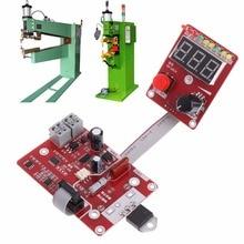 Double pulse Spot welding machine encoder Time Digit Module Control Panel Plate adjustable current Controller 40A Mu MAR25