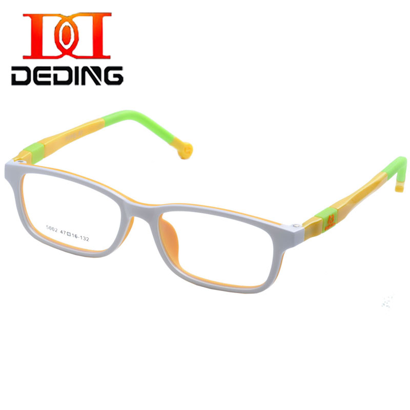 e9ccdedf62 DEDING Unbreakable Kids Silicone Rectangle Flexible Glasses Frame ...