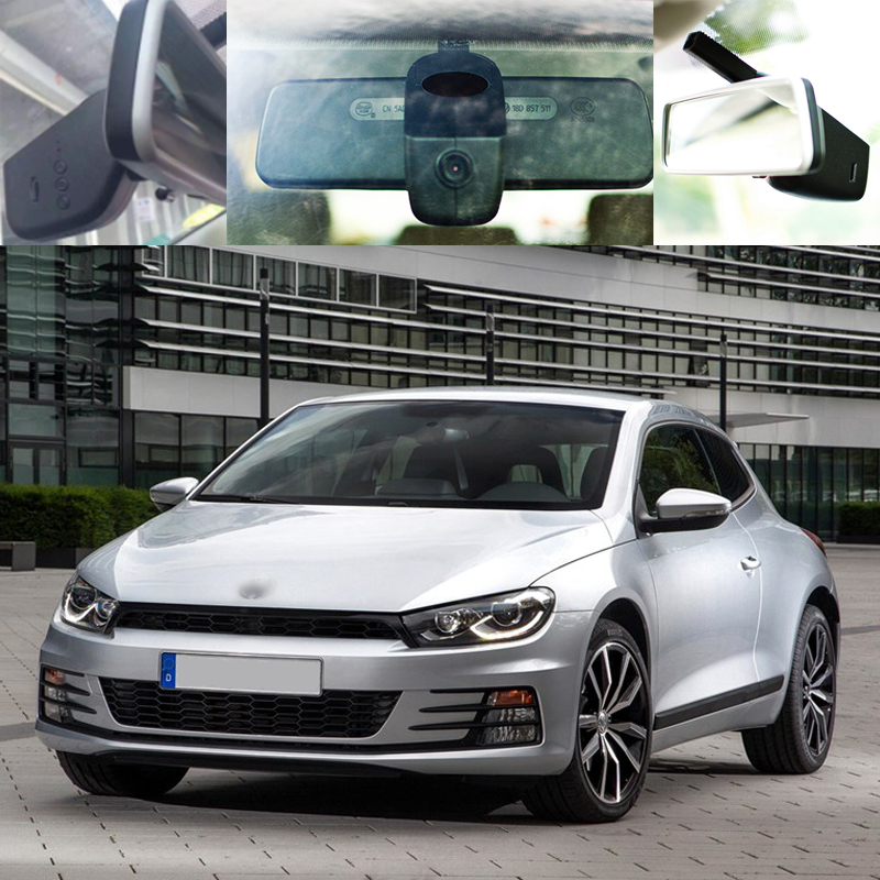 BigBigRoad For vw Scirocco Car wifi DVR Car Video Recorder front camera Car black box dash cam g-sensor Keep Car Original Style bigbigroad for peugeot 3008 app control car wifi dvr dual camera video recorder night vision car black box wdr car dash camera