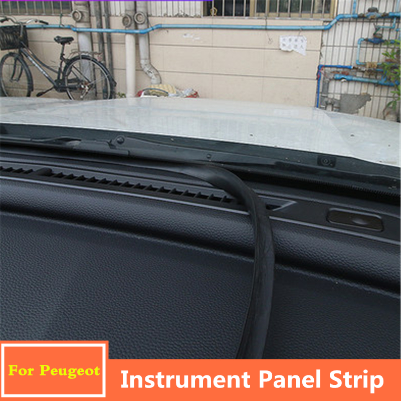 For Peugeot 5008 4008 <font><b>3008</b></font> 2008 308 20152016 2017 2018 2019 Car dashboard Seal strip rubber windshield seal gap Soundproof Strip image