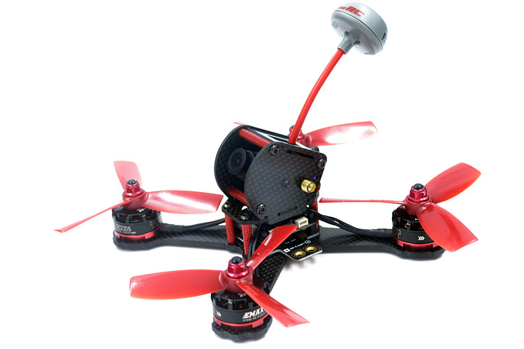 DIY FPV QAV-X4 RS 155mm mini racing drone QAV-X4 RS 155mm quadcopter 3K pure carbon fiber frame for 4040 propeller 4 blades carbon fiber frame diy rc plane mini drone fpv 220mm quadcopter for qav r 220 f3 6dof flight controller rs2205 2300kv motor