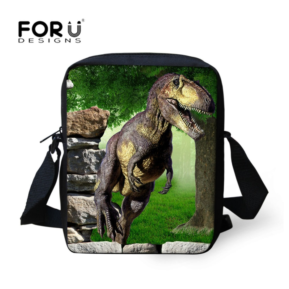 2016 New Brand Children Messenger Bags for Girls and Boys,Fashion Hot Animals Dinosaur Students Kids Cross body bags free ship