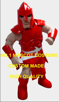 High Quality Red Colony Titan Mascot Costume Adult Warrior Knight Theme Anime Cosply Costumes Carnival Fancy Dress 2051