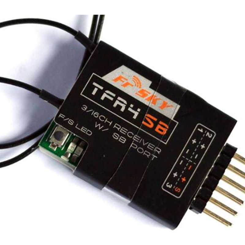 Tarot-RC FrsKy TFR4SB 2.4GHz Futaba FASST S.BUS 4CH Receiver frsky tfr6 tfr6 a 7ch 2 4g receiver compatible with futaba fasst frsky tfr6 t8fg 10cg 14sg tf module