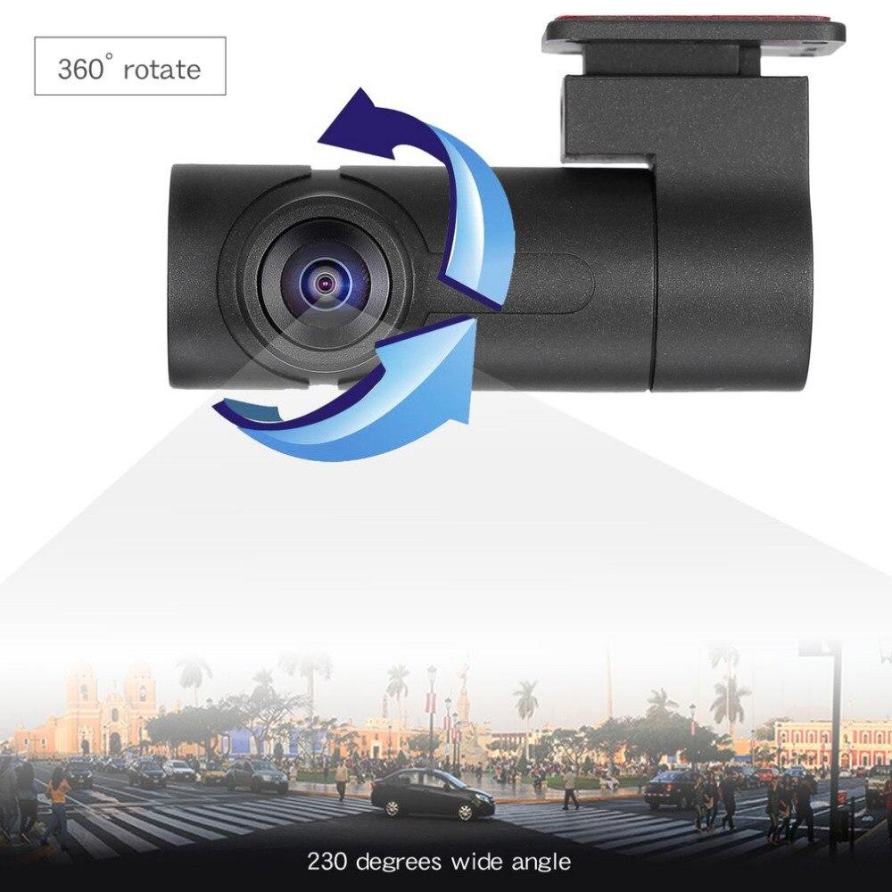 Objectif unique 1080P enregistreur de conduite panoramique 360 degrés haute définition Mini tachygraphe caméra soutien Vision nocturne livraison directe