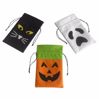 Cute Festival Gift Bag Souvenir Packing Drawstring Candy Bag Sweets Storage Jewelry Pouch Halloween Birthday Accessories