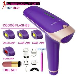 Image 2 - Lescolton T009 1300000times Depiladora Laser Hair Removal Machine Laser Epilator Hair Removal Bikini Trimmer Electric epilator