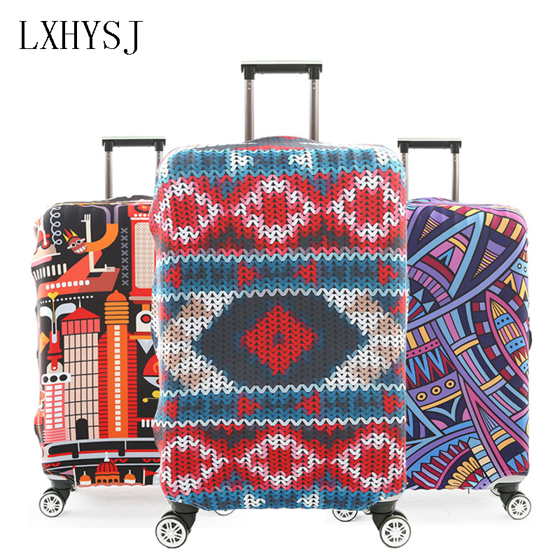 Elastic Travel Luggage Protective Covers Luggage Cover For 18-32 Inch Trolley Suitcase Case Dust Cover Travel Accessories