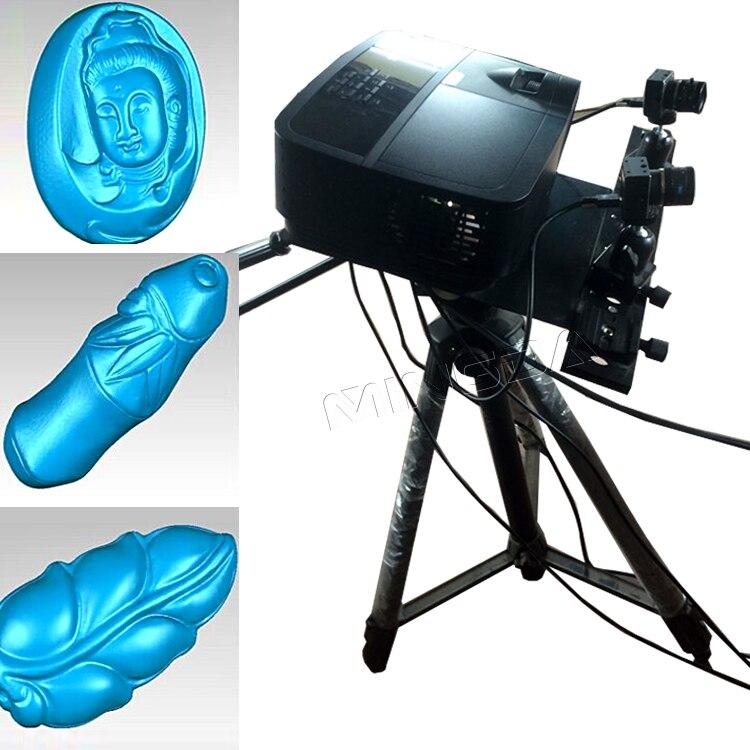 High Precision Industrie 3d-scanner Professionelle Escaner 3d-objekt Modellierung 3D Scanning-maschine Hochauflösende Scanner