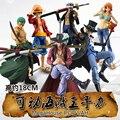 Anime One Piece Luffy Saab SHF Hawkeye Figura PVC 18 CM Onepiece Nami Figuras de Acción S. H. Figuarts Juguetes de Anime Roronoa Zoro Modelo