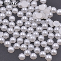 20mm 250Pcs Lot ABS Round DIY Pearl Loose Beads Flat Back Wedding Decoration Shoes Clothes 11