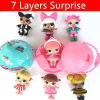 2017 New Dress Up Surprise Doll Unpacking Dolls Toy Cute Surprise Gifts Accessories Toys With Function