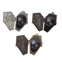 Luxury Brand Arrival Nightmare Christmas Pocket Watch Quartz pocket watch Necklace  Pendant women watch Bronze Clock relogio