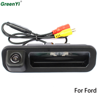 Special Car Rear View Camera For Ford Focus 2012 2013 For Focus 3 Trunk Handle Camera Color Night Vision Waterproof