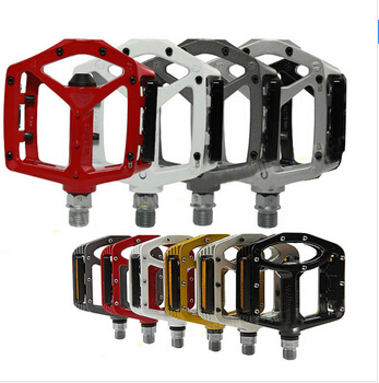 ФОТО Free Shipping!Wellgo MG-3  Magnesium Pedals For Road Bike pedals bicycle pedal MTB BMX DH Platform red
