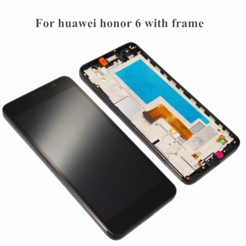 for Huawei Honor 6 LCD display+touch screen digitizer full frame assembly free tools replacement for Huawei Honor 6 LCD display+touch screen digitizer full frame assembly free tools replacement