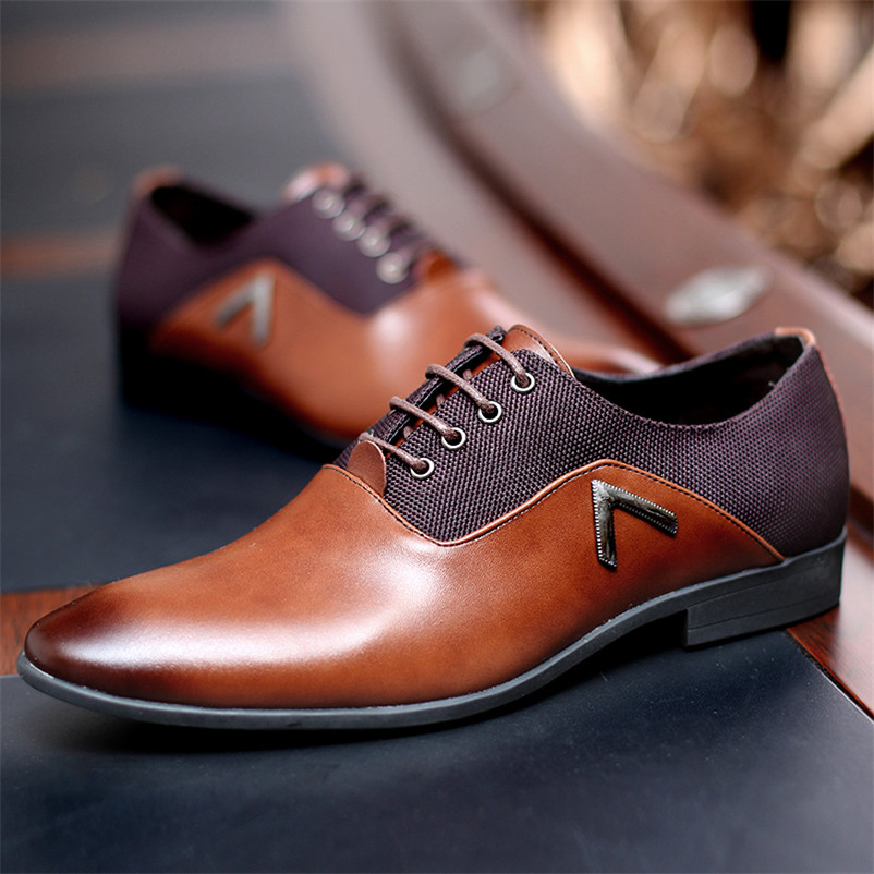 Gentleman Oxford hommes chaussures en cuir d'été hommes appartements Bullock Zapatillas Hombre robe noir marron taille 35-47 chaussure homme