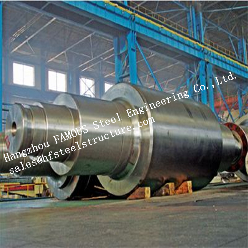 Solid Forged Stainless Steel Backup Rolls , Cold And Hot Rolling Mill Rolls