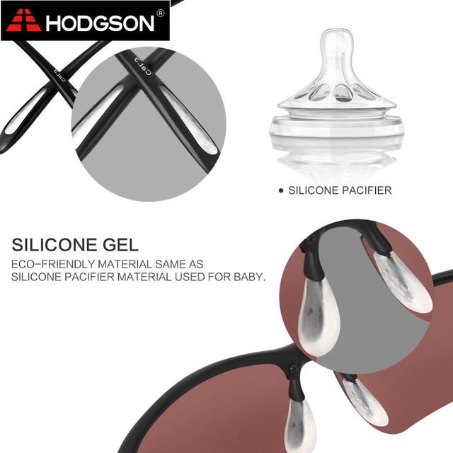 8001 HODGSON TR90 Ultralight Polarized Fishing Glasses Flexible Outdoor Sport Male Sunglasses Female Sun Glasses for Driving