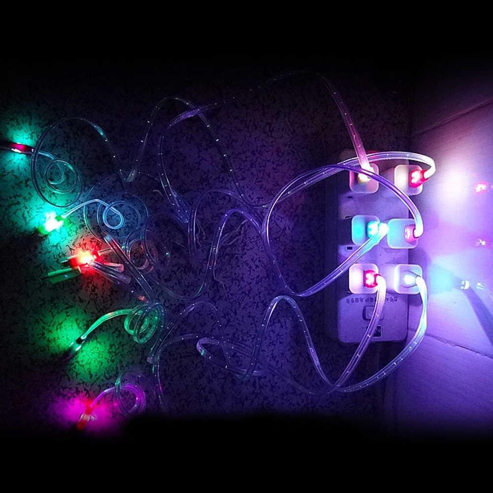 Oświetlenie LED kabel V8 kryształ Micro USB kabel danych kluski przewody do ładowania elektroniki Data przekazywane drut świecić w ciemności ~ 3