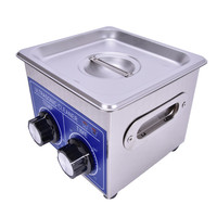 YUNLINLI Ultrasonic Cleaner Heaters And Timers 60W 1.3L Small Household Sanitary Ware 40KHz
