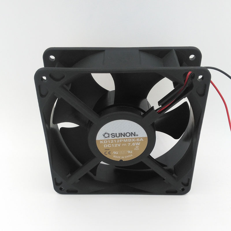 New Original SUNON KD1212PMBX 12V 7.6W 12038 120*120*38mm Cooling Fan for Computer Case, Network Cabinet, Industrial Equipment