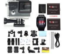 Yagoo8 Wi-Fi Экшн камера Full HD4K/1080 P Спорт на открытом воздухе Cam Go Водонепроницаемый 30 м Pro удаленного 32 64 г рекордер темно-Дайвинг камеры