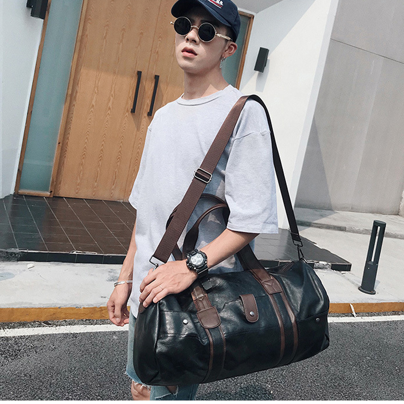 Най-високо качество PU кожа пътека - Багаж и пътни чанти - Снимка 6