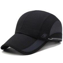 [AETRENDS] 2017 Summer Waterproof Mesh Cap Men's Baseball Cap Women Sun Hats Quick-Drying Breathable Caps Z-5077