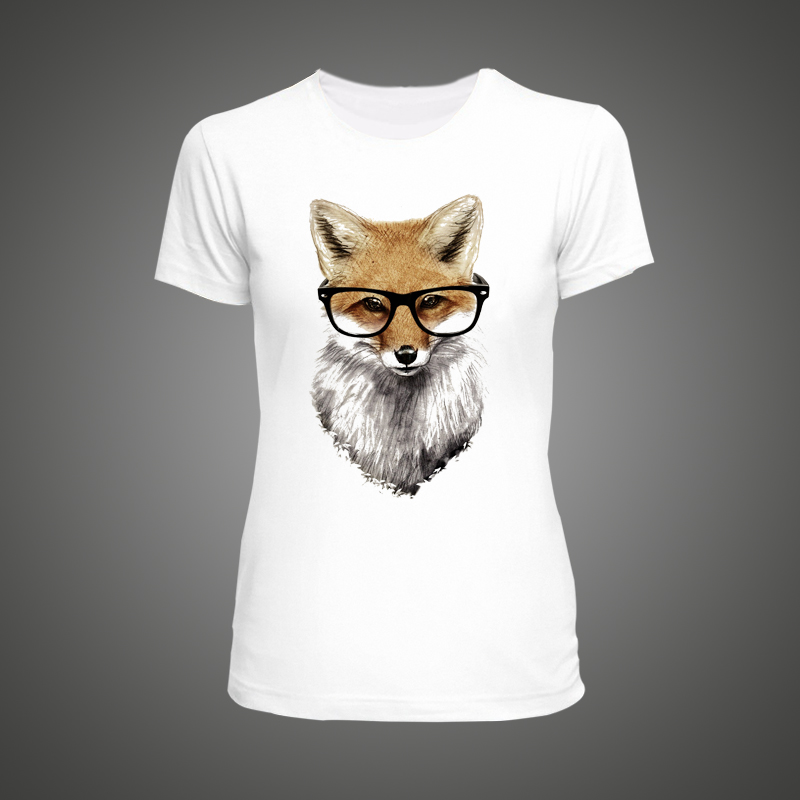 Popular Fox Animal Shirt-Buy Cheap Fox Animal Shirt lots ...
