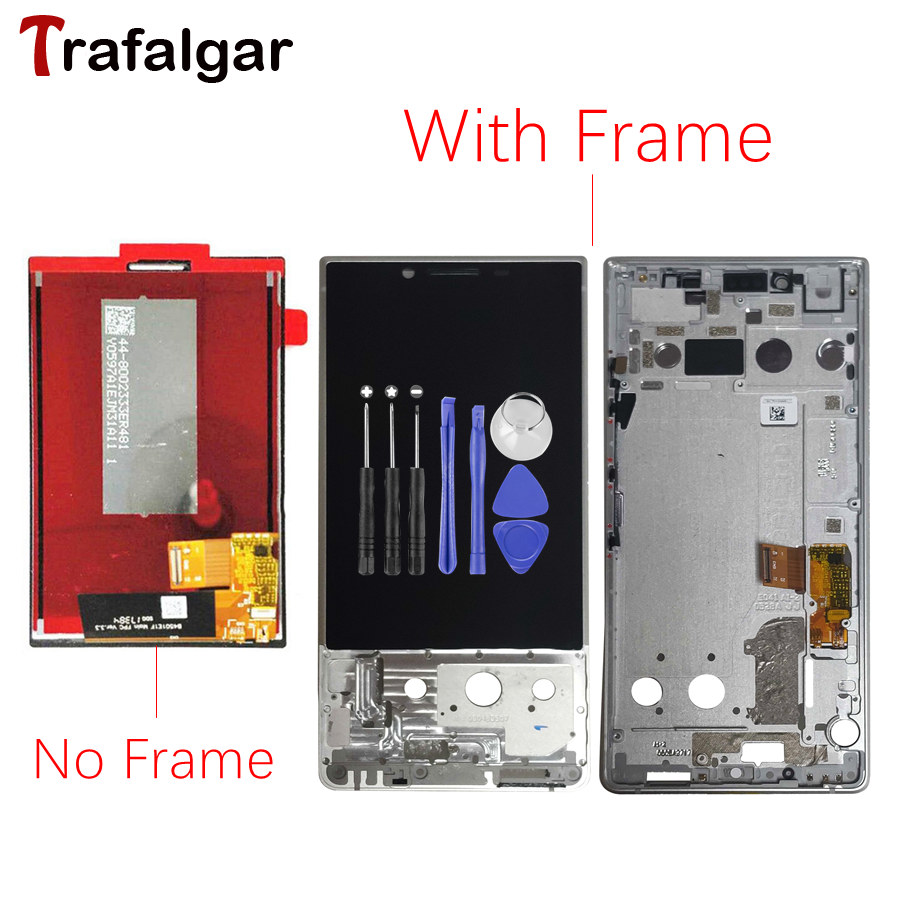 For BlackBerry Key2 LCD Display Touch Screen Digitizer Assembly Key2 Screen With Frame For Blackberry Key