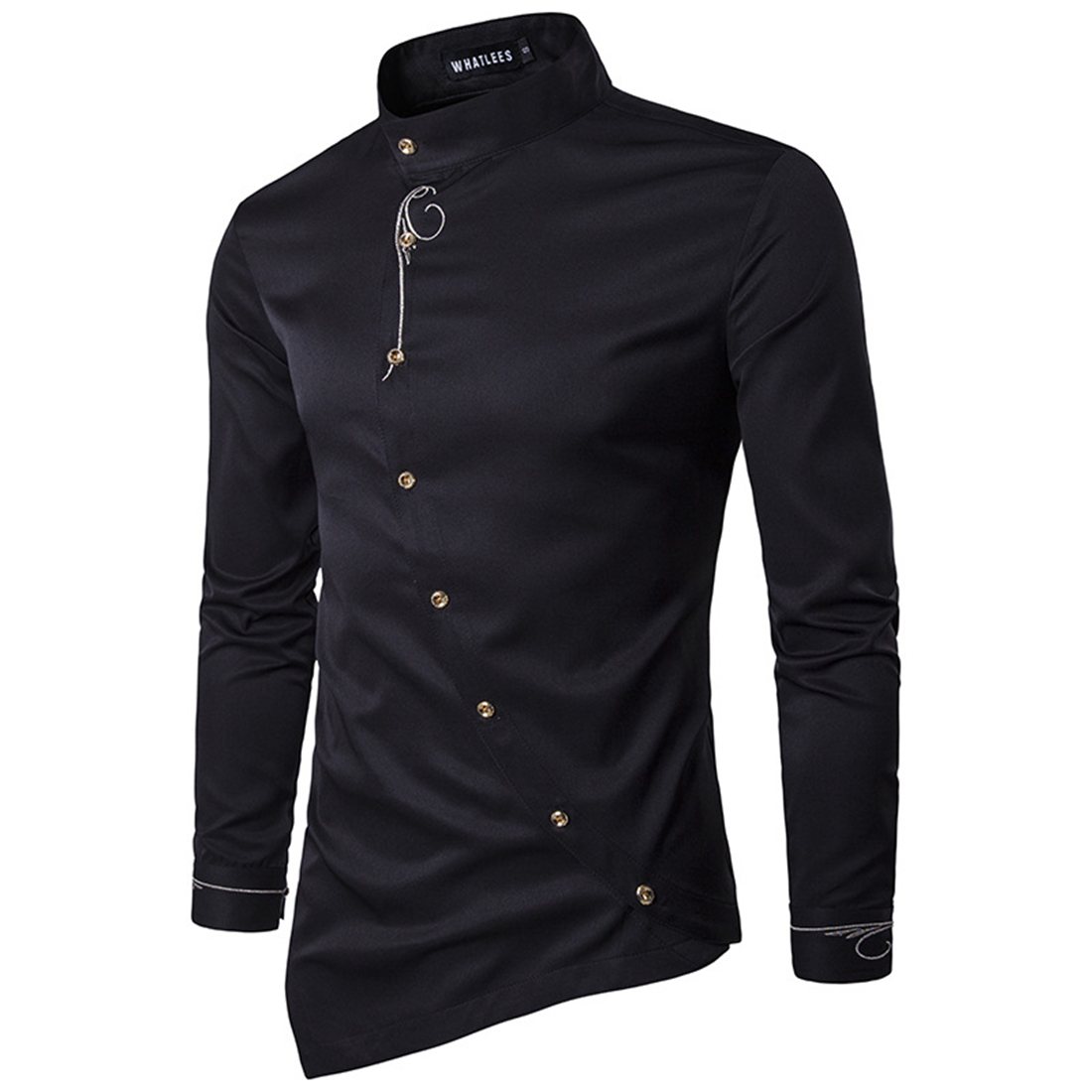 Compare Prices on White Shirt with Red Buttons Men- Online ...