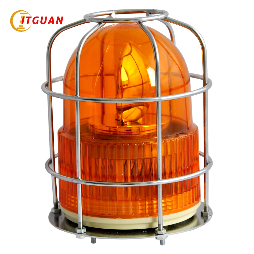 LTE-1122S Safety Incandesent Warning Light Anti-collision With Cover DC12V/24V/AC220V Bolt Bottom Amber Red Color Optional Lamp jean paul gaultier le beau male