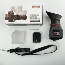 KAMERAR QV 1 LCD MIRINO VIEW FINDER PER CANON 5D MarK III II 6D 7D 60D 70D, f Nikon D800 D800E D90 D610 D600 D7200 Genunie