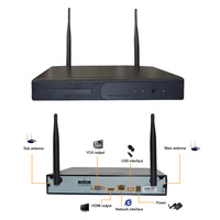 Wifi NVR 1080P 4CH 8CH to Use with Wetrans Wireless Camera