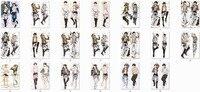 Attack on Titan anime Characters eren jaeger & levi throw pillow cover shingeki no kyojin body Pillowcase