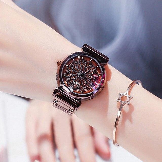 Top Brand 2019 Luxury Diamond Wrist Hand Crystal Fashion Quartz Watch For Women Stylish Ladies Girls Watches Female Wristwatch | Fotoflaco.net