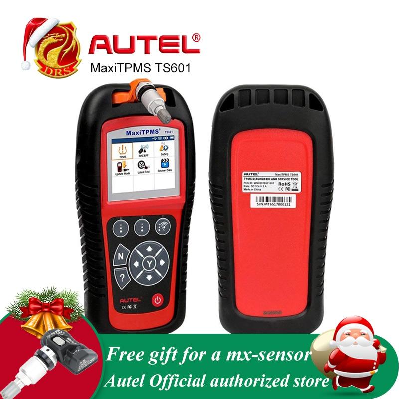 Autel MaxiTPMS TS601 OBDII Strumento di Diagnostica OBD2 Scanner TPMS Programmatore di Codice Auto Reaser TPMS Monitor Strumento di 433 mhz 315 mhz sensore