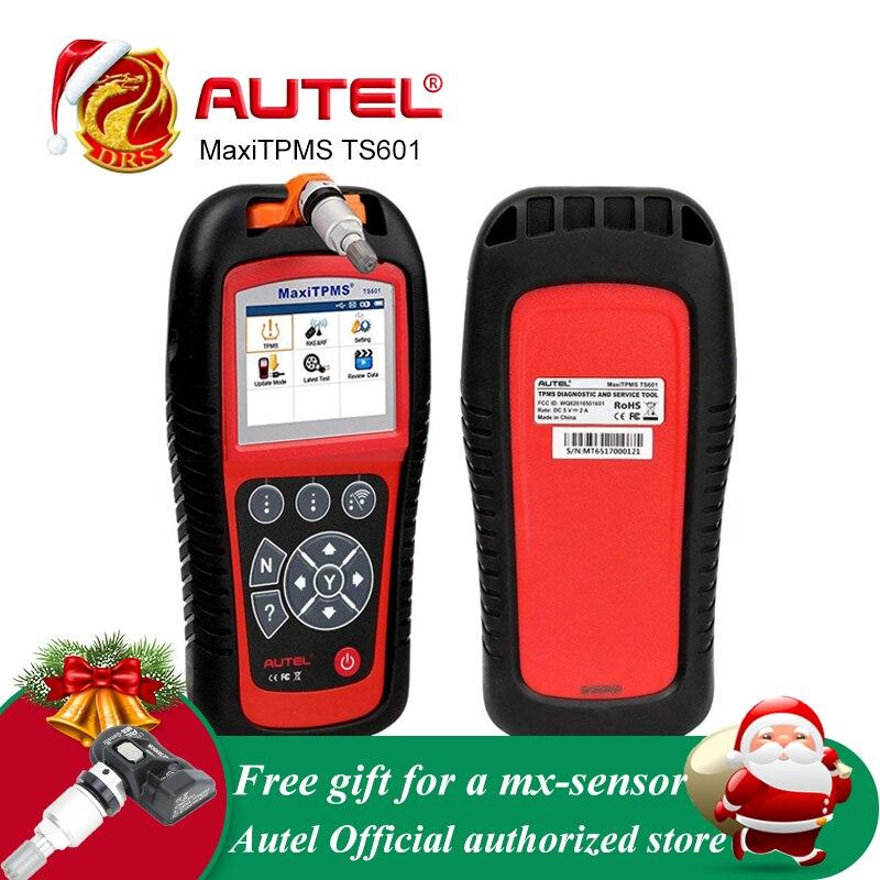 MaxiTPMS Autel Ferramenta De Diagnóstico OBDII OBD2 TS601 Scanner Código Reaser TPMS TPMS Auto Programador Ferramenta Monitor 433 mhz 315 mhz sensor de
